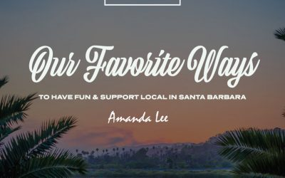 Amanda Lee's favorite way to support local