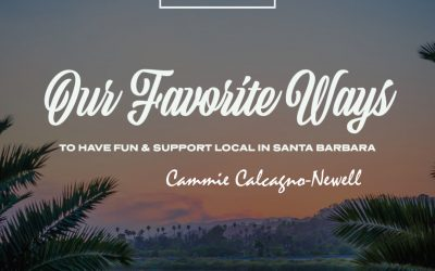 Cammie Calcagno-Newell's favorite way to support local