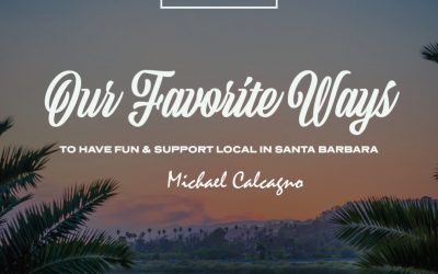 Michael Calcagno's favorite way to support local